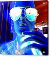 Feelin Blue Acrylic Print