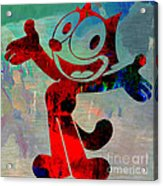 Felix The Cat Acrylic Print