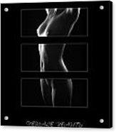 Female Beauty 4 Acrylic Print
