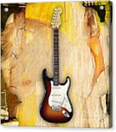 Fender Stratocaster Collection Acrylic Print