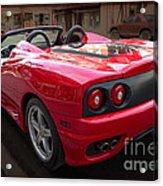 Ferrari 360 Spider Acrylic Print
