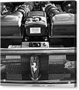 Ferrari 430 Scuderia Engine Acrylic Print