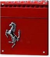 Ferrari Horse Acrylic Print