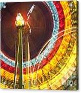 Ferris Wheel Evergreen State Fair Acrylic Print