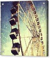 Ferris Wheel In Paris Acrylic Print