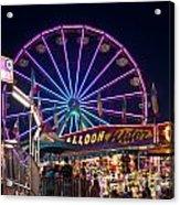 Ferris Wheel Rides And Games Acrylic Print