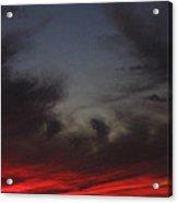 Film Homage Akira Kurosawa Ran 1985 Fiery Clouds Casa Grande Arizona 2004 Acrylic Print