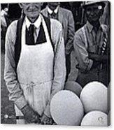 Film Homage Balloon Vender Extra The Great White Hope 1970 Globe Arizona 1969-2008 Acrylic Print