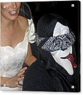 Film Homage Bela Lugosi Ed Wood Bride Of The Monster 1955 Halloween Party Casa Grande Arizona 2005 Acrylic Print