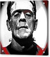 Film Homage Boris Karloff The Bride Of Frankenstein 1935 Publicity Photo 1935-2012 Acrylic Print