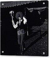 Film Homage Charlie Chaplin The Circus 1928 Clown Strong Circus Bisbee Arizona 1980 Acrylic Print