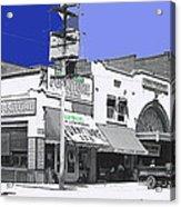 Film Homage Director Allan Dwan Soldiers Of Fortune 1919 Lyric Theater Tucson Arizona 1919-2008 Acrylic Print