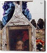 Film Homage John Wayne The Greatest Story Ever Told 1965 Cemetery Tubac Arizona 2000 Acrylic Print