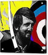 Film Homage The Archers Collage Tom Harmon Aberdeen South Dakota 1965-2008 Acrylic Print