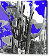 Film Homage Victor Fleming Jean Harlow Bombshell 1933 Saguaro Nat'l Monument Tucson 2008 Acrylic Print