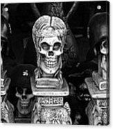 Film Noir Fritz Lang Ministry Of Fear 1944 Skeletons Nazi Helmets Nogales Sonora Mexico Acrylic Print
