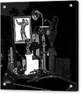 Film Noir Richard Widmark Night And The City 1950 1 Johnny Gibson Health And Gym Equipment Tucson Acrylic Print