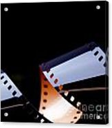 Film Strip Abstract Acrylic Print by Tim Hester