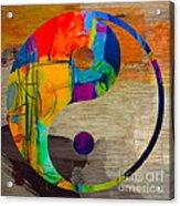 Finding Good Balance Acrylic Print