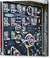 Fireman Control Panel Acrylic Print