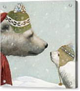 First Winter Acrylic Print