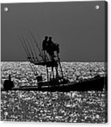 Fishing Friends Acrylic Print
