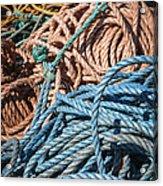 Fishing Ropes Acrylic Print