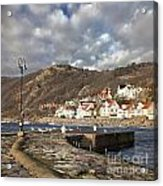 Fishing Village Of Molle In Sweden Acrylic Print