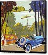 Fleuves De La Galice Automobile Acrylic Print