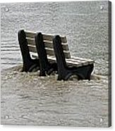 Flooded Seat  Acrylic Print