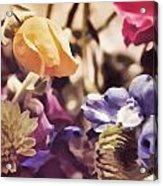 Floral Art V Acrylic Print