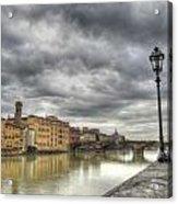 Florence Old Bridge Acrylic Print