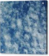 Florida Clouds Above Acrylic Print