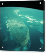 Florida From Space Acrylic Print
