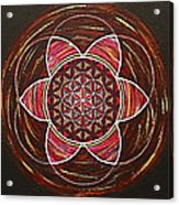 Flower Of Life Acrylic Print