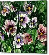 Flower Study I Acrylic Print