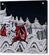 Flying Monks 2 Acrylic Print
