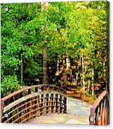 Folsom Bridge At Furnace Creek Acrylic Print