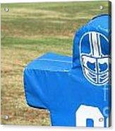 Football Dummy Acrylic Print