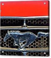 Ford Mustang Badge Acrylic Print