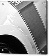 Ford Mustang Boss 302 Emblem Acrylic Print