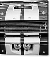 Ford Mustang Grille Emblem Acrylic Print