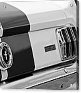1966 Ford Shelby Mustang Gt 350 Taillight Acrylic Print