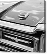 Ford Thunderbird Tail Lights Acrylic Print