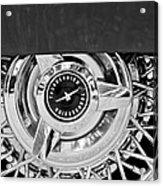 Ford Thunderbird Wheel Emblem Acrylic Print