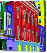 Fords Theatre Acrylic Print