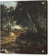 Forest Of Fontainebleau Acrylic Print