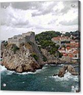Fort Lovrijenac - Dubrovnik - Croatia Acrylic Print