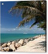 Fort Zachary Taylor Beach Acrylic Print by Amy Cicconi