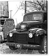 Forties Ford Pickup Acrylic Print